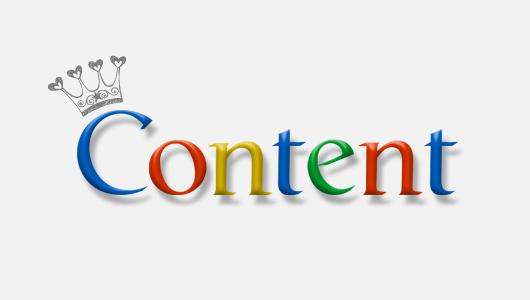 Content is Now King of the SEO Land