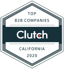 CLUTCH - Top B2B Companies California 2020